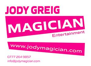 contact Jody Greig Magician